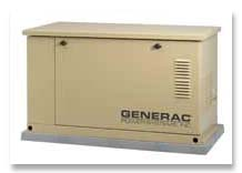 used Generac power generator